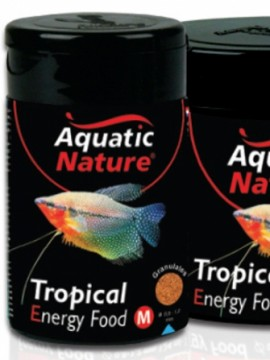 Aquatic Natur Tropical Energy Food M 124ml - 50g