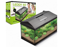 Aquario Aquael Kit60 54L Leddy 6W + Filtro + Termostato